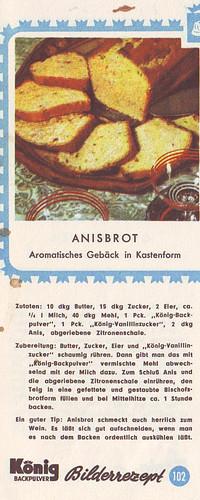 König Bilderrezept: Anisbrot