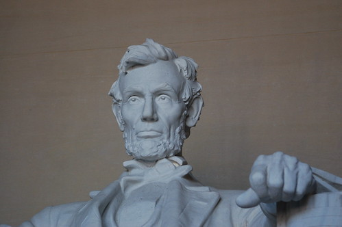 The Lincoln Memorial Statue. Lincoln Memorial - Sculpture