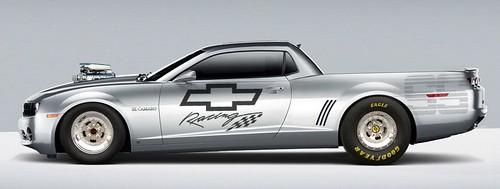 Chevy El Camaro racing