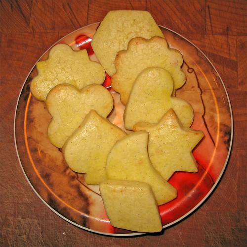 Biscotti al burro con marzapane