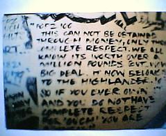 yes cruel (hunty273..AMP.) Tags: nottingham graffiti oldschool writers pops oldskool 103 cruel popz