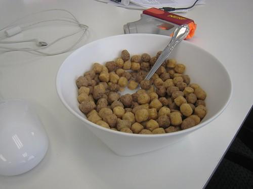 bowl o' reese's puffs