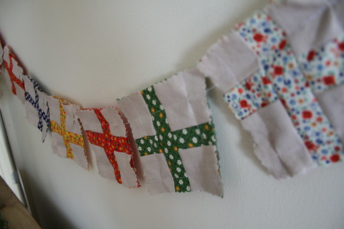 Little Swiss Flag Garland