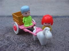 Pin y pon - Carreta (miguelmontanomx) Tags: toys 80s 70s niñas infancia mattel juguetes pinypon nenas pinpon nenes chiquillas chiquillos muñecasfamosa niñis