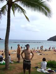 Snorkeling (pjsugi) Tags: oahu hanaumabay