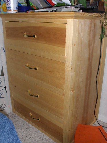 Dresser made from 2x4s