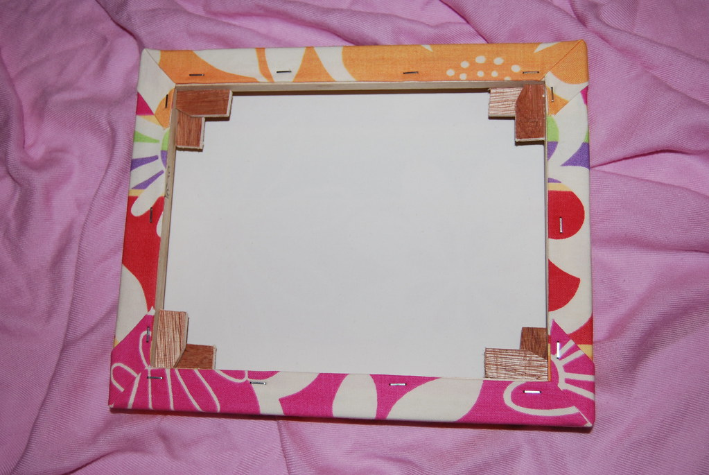 Covered Canvas Frame