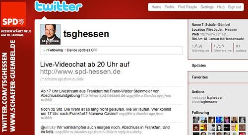 """Thorsten """"TSG"""" Schäfer-Gümbel streamt live mit Mogulus"""