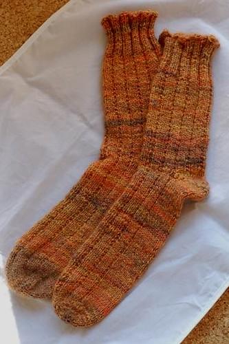 Calendulas Socks