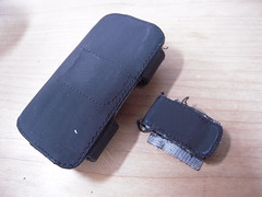 Broken iPhone Case and Damaged iPhone 3G
