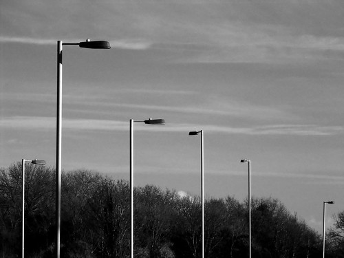 Six Lamposts, Hardway Relief Road.