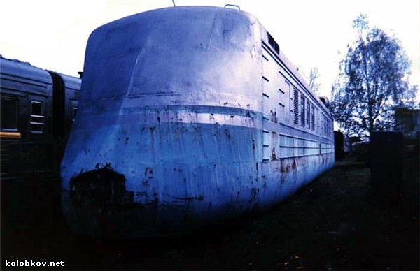 Trem a Jato Russo SLV - 1993 Foto1