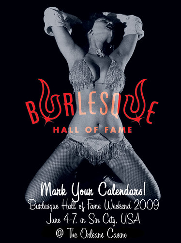 Burlesque Hall of Fame and Miss Exotic World