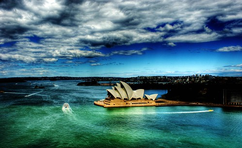 Sydney Habour and Opera House - HDR - by Michael Scott