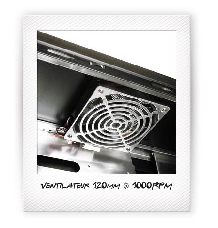 Ventilateur 120mm @ 1000RPM