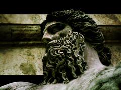 il Nilo (Daniele Peruzzi) Tags: old italy rome color roma statue photoshop lumix italia effect statua lazio campidoglio marmo cs3 travertino roob