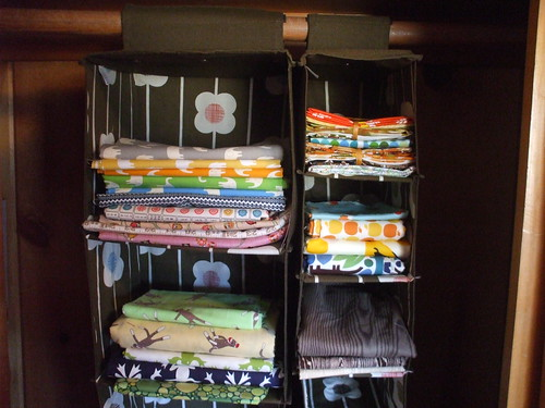 Orla Kiely hanging organizers - fabric storage