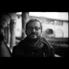 Winter tale 6 (Giorgio Verdiani) Tags: blackandwhite bar 35mm florence blackwhite university dof f14 universit rangefinder depthoffield firenze gil yashica 45mm lynx gilberto faculty biancoenero chiostro blackdiamond barman efke 50asa gilbar yashinon 24x36 profonditdicampo santaverdiana architecturefaculty facoltdiarchitettura yashicalynx autaut telemetro bestbarman migliorbarman