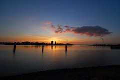 Sunset (p k o) Tags: sunset antwerp scheldt tokina1116mmf28