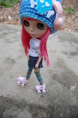 """Nanette """"Come on, barbie, lets go party"""" (Lawdeda ) Tags: heaven queen blythe rollerskating ih ichigo rbl"""
