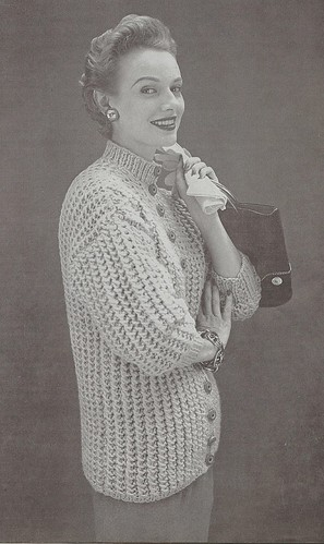 Bernat cardigan from 1954