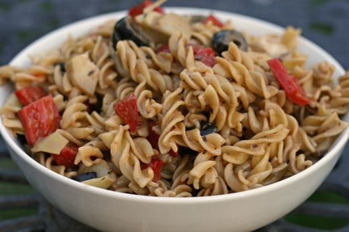Cooking with Kids: Antipasti Pasta Salad