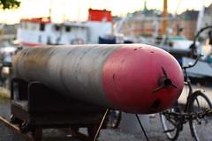 Swedish Practice 53cm Torpedo (AdurianJ) Tags: pictures camera canon europa fotograf sweden digitalcamera dslr scandinavia europeanunion suecia lenses 欧洲 スウェーデン northerneurope ヨーロッパ nórdico escandinavia 瑞典 北欧 斯堪的纳维亚 ノルディック adurianj
