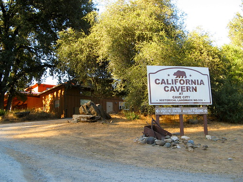 CC @ CC -- California Cavern Visitor Center