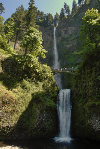 Multnomah Falls adjusted