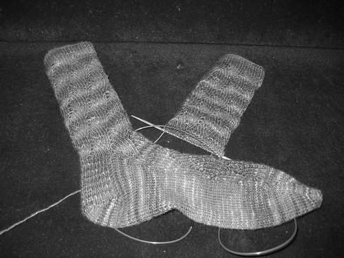 Almost done swap socks