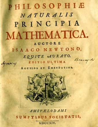 Philosophiae Naturales Matematicas