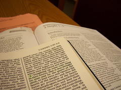Studying Signs (Tingsteph) Tags: church institute lds scriptures scripturestudy