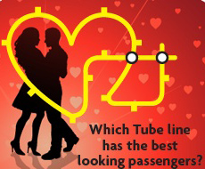 Which Tube Line has the Hottest Commuters?
