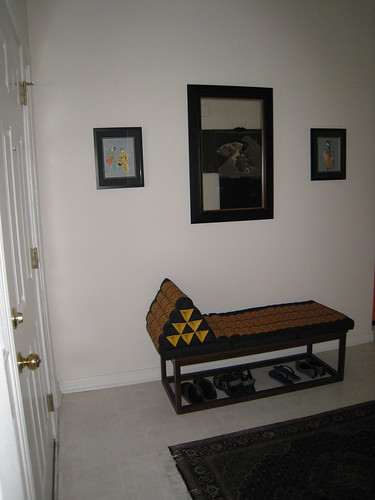 Entryway (left wall)