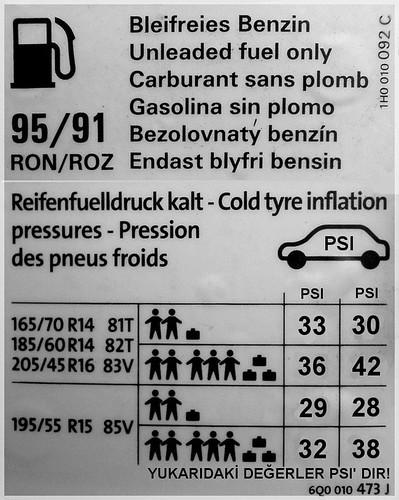 polo lastik hava basıncı - polo 9n