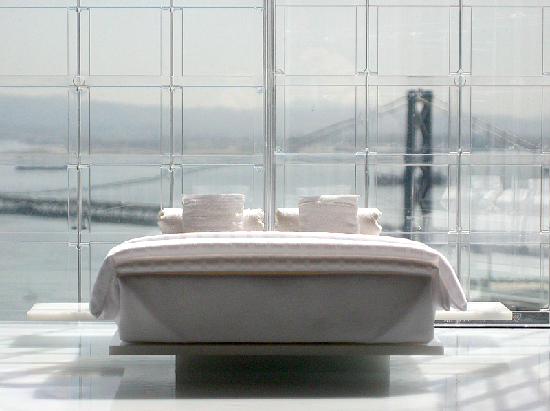 Miniarc Bed No. 3: All White Luxury