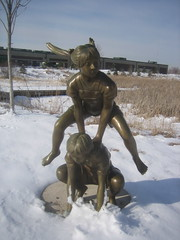From Legacy Village Sculpture Park in Maplewood, MN