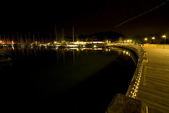 Rebak marina at night-langkawi malaysia