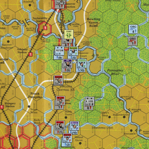 Lee vs. Grant - Scenario 6: From the North Anna to the Totopotomoy