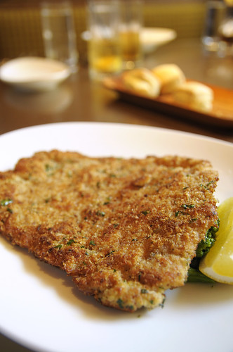 Pan-fried pork cutlet, available TWO ways, Two, San Francisco