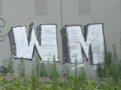 wm graffiti closeup