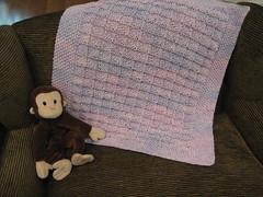 Flying Triangles Baby Blanket (majorknitter) Tags: baby triangles flying blanket