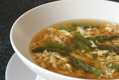 Vietnamese Asparagus Crab Soup