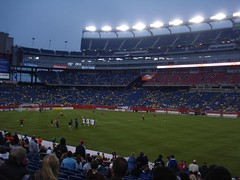 New England Revolution - half time