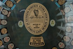 Guinness beer mats from the past