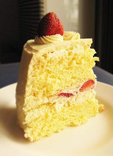 Strawberry Shortcake Piece Of Cake