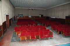 """The Audience Is Listening (picture_addicted) Tags: urban abandoned d50 germany lost army deutschland nikon decay military air urbanexploration 2008 raf forces armedforces verlassen airbase weeze militär urbex luftwaffe verfall vergessen royalairforce lostplace laarbruch urbanexplorer stützpunkt urbanex pictureaddicted place"""" base"""""""