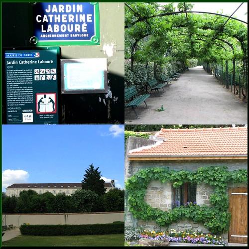 Flickriver photoset 39 paris promenades 39 by kay harpa - Jardin catherine laboure ...
