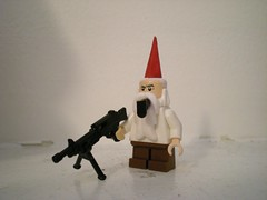 angry gnome side (chaosfish1) Tags: movie lego frankenstein chef batman videogame nome custom muppet waldo wolverine gladiator venom splintercell godofwar gearsofwar