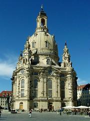 Frauenkirche (Weingarten) Tags: germany deutschland dresden saxony sachsen alemania frauenkirche allemagne germania dresde saxe saxonia dresda sassonia